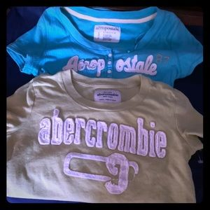 PAIR OF SUMMER SHIRTS SIZE SMALL